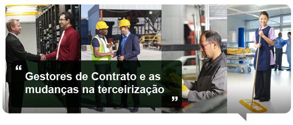gestores de contratos e a terceirização