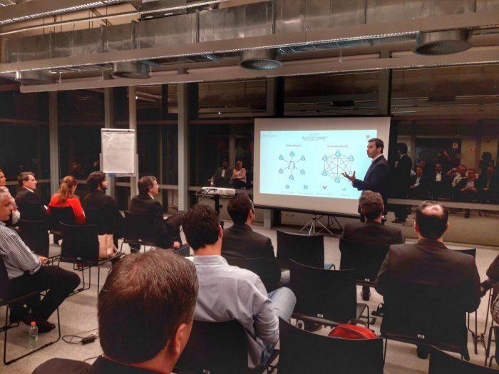 Bernardo Madeira, especialista em Blockchain, foi o palestrante do Encontro do Comitê Executivo