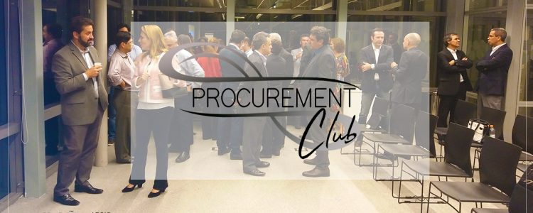Procurement Club. Evento reuniu mais de 35 profissionais de Procurement